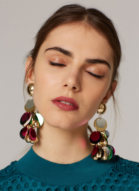 Mixed Jewel Earrings - 5 Colorful Statement Earrings for Lazy Days // NotJessFashion.com