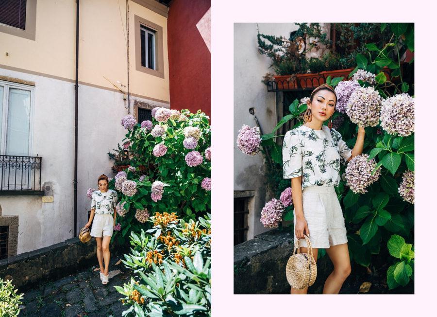 Linen Tops, Linen Dress, Linen Shorts for Summer // NotJessFashion.com
