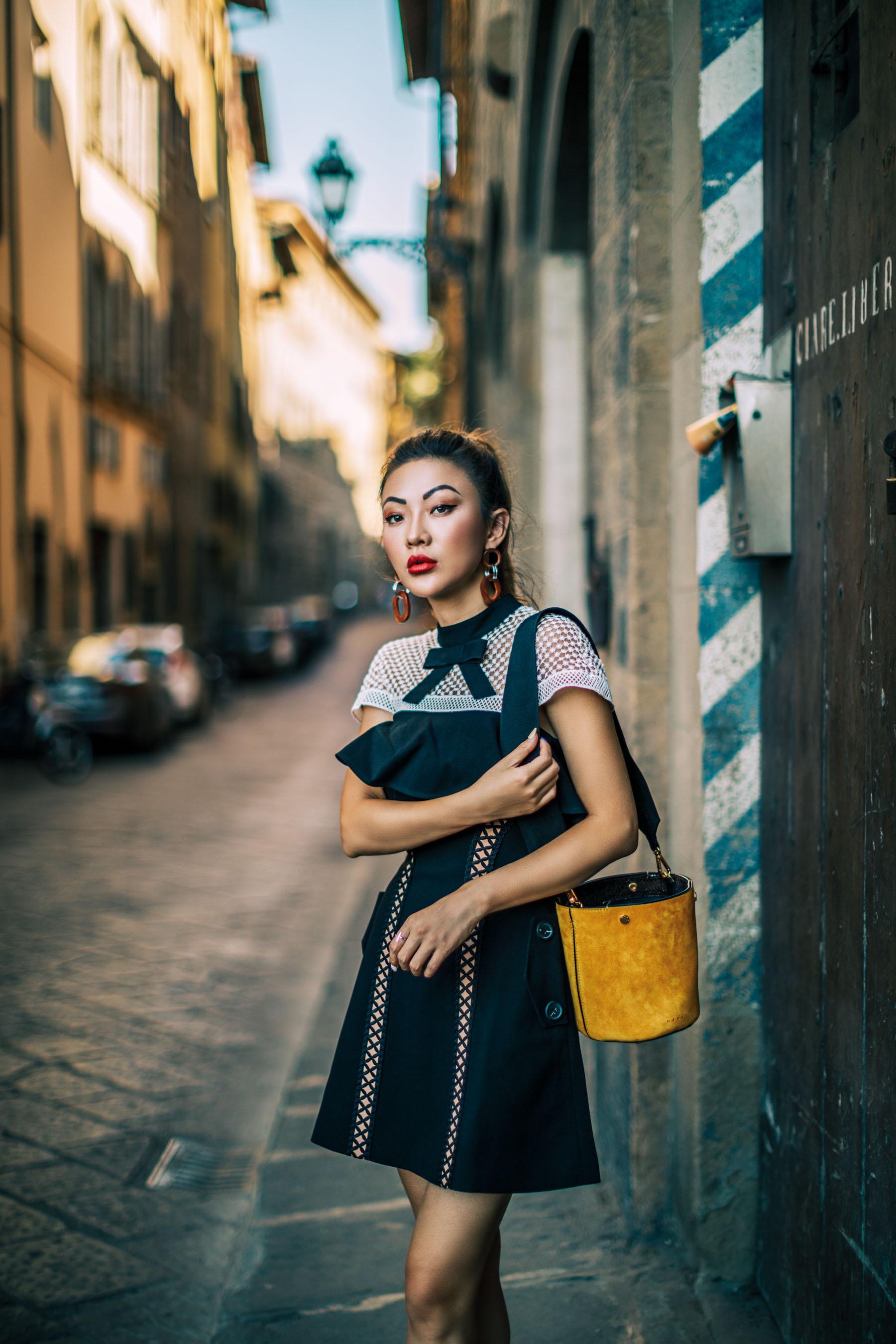 Self Portrait Lace Dress // NotJessFashion.com