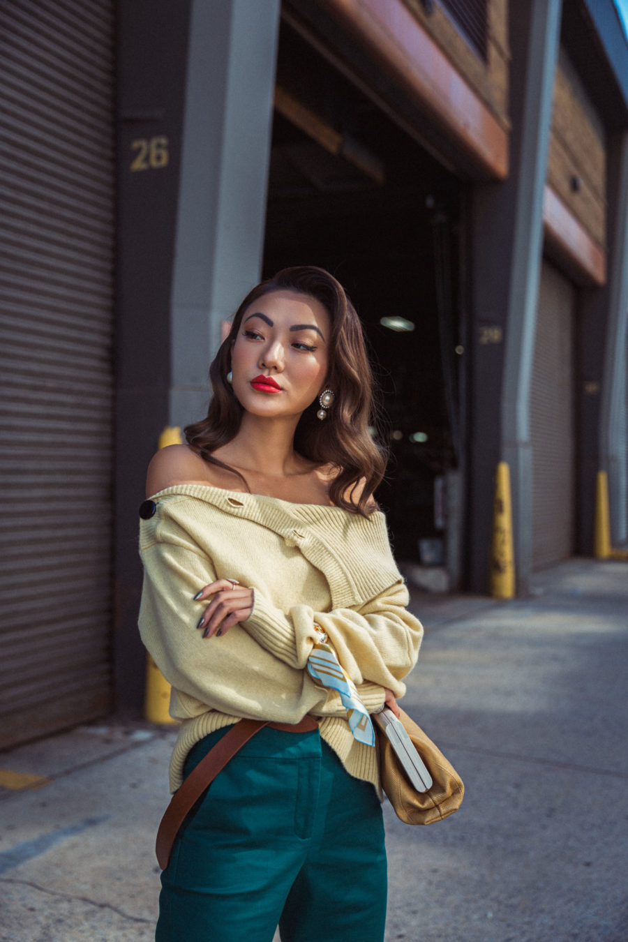 How To Style Green For Fall // NotJessFashion.com