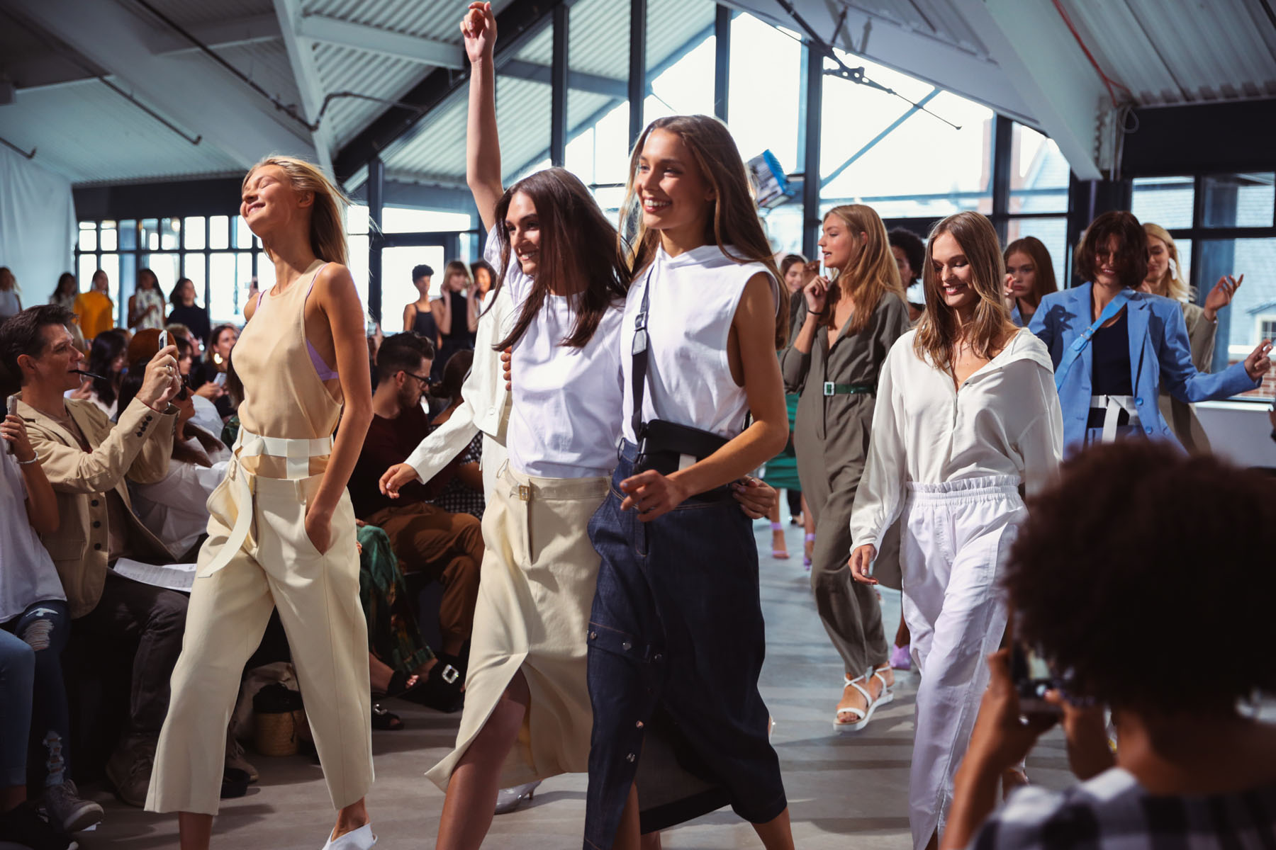 How to Use Fashion Week As A Networking Opportunity // Notjessfashion.com // fashion week runway, blogger fashion week, ss18 fashion show