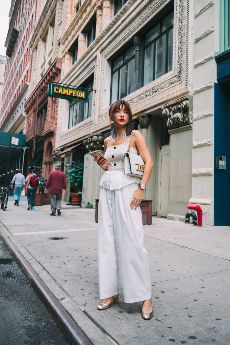 NYFW Day 2 Cinq A Sept, Creatures Of Comfort, La Prairie, and Refinery29 // NotJessFashion.com