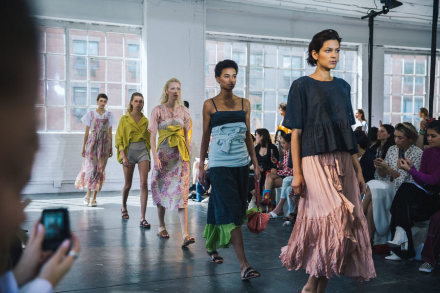 NYFW Day 2 Cinq A Sept, Creatures Of Comfort // NotJessFashion.com