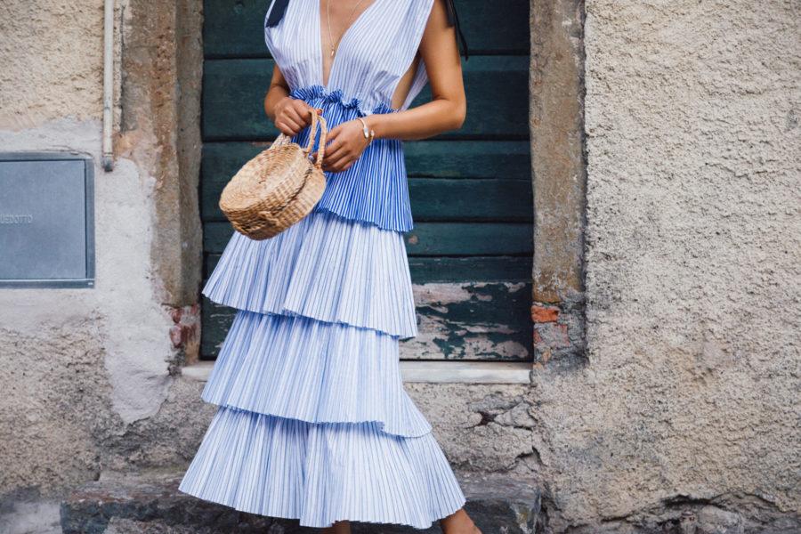 Ruffle Tiered Dress // NotJessFashion.com