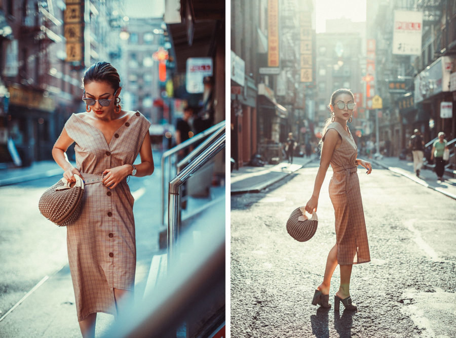 Vintage-Inspired Fall Trends Plaid Dress // NotJessFashion.com