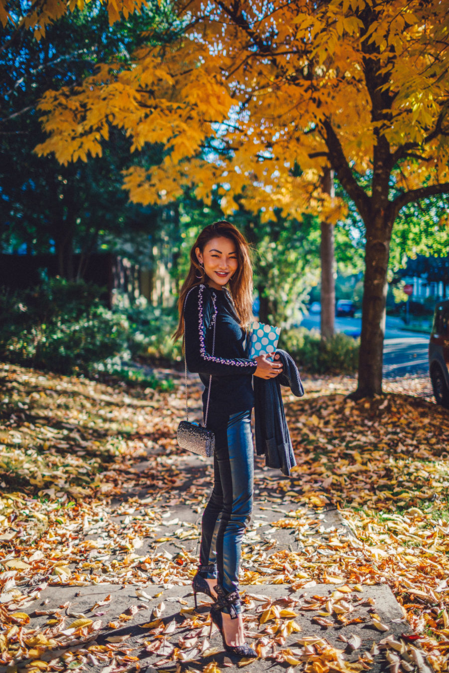 fall activities, fall leaves in nyc, fall portraits // Notjessfashion.com