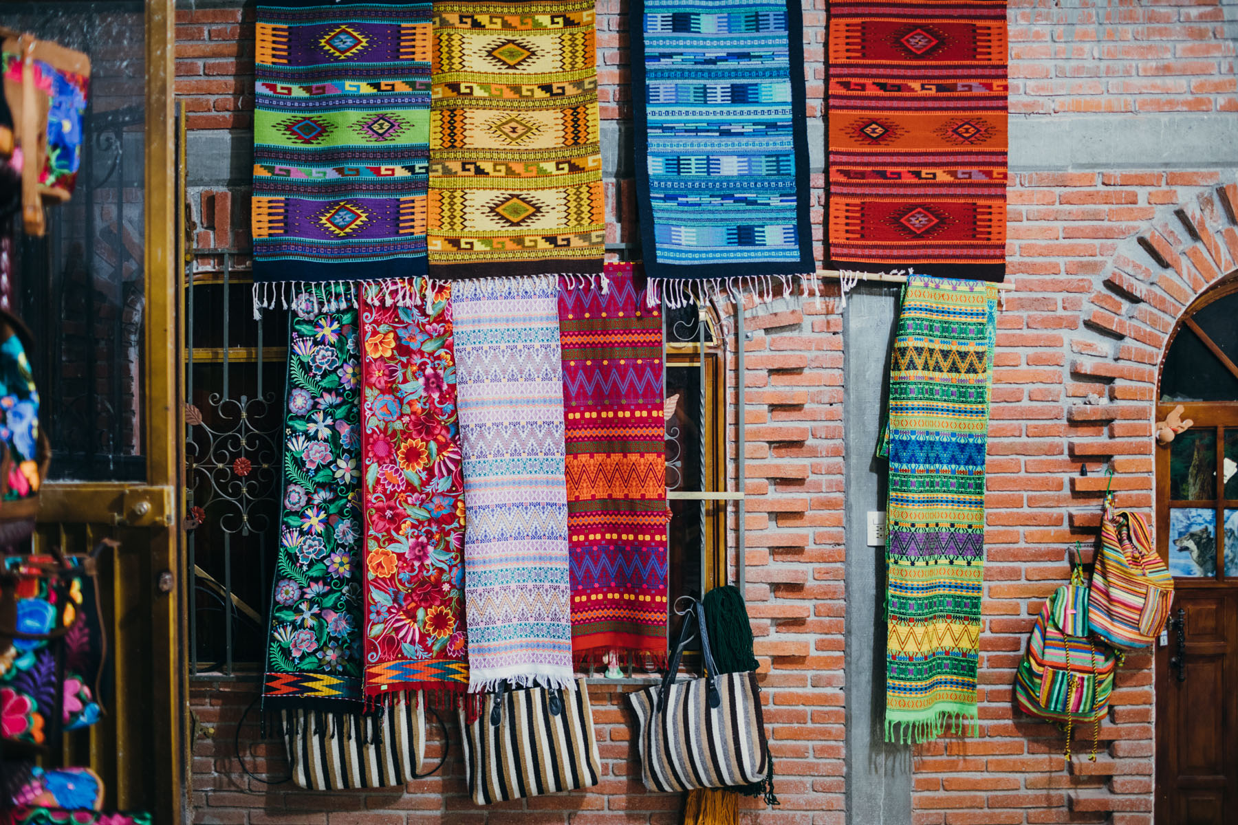 Oaxaca Tapestry Markets Mexico // Notjessfashion.com
