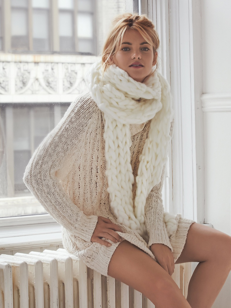 Dresses to Ring in 2018 - Cozy Casual Cream Dress // notjessfashion.com