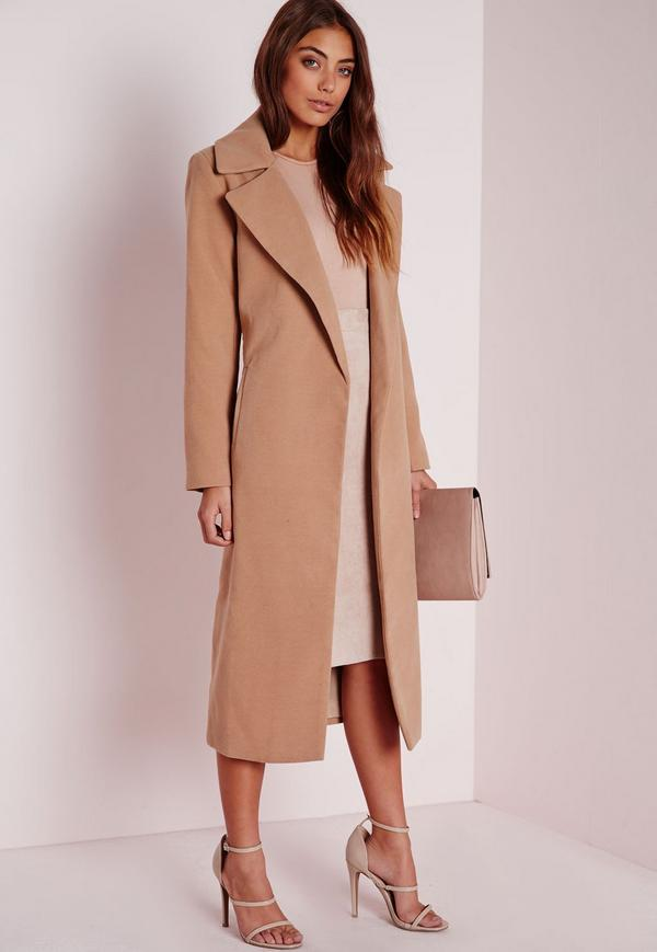 Holy Grail Coat Everyone Must Own - Missguided Oversized Camel Coat // Notjessfashion.com