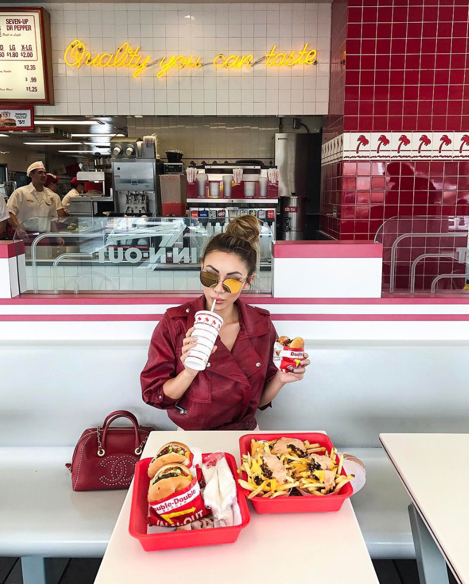 Essential Photography Tips for New Bloggers - Jessica Wang goes to In N Out // NotJessFashion.com // travel blogger, fashion blogger, food and fashion, asian blogger, new york fashion blogger