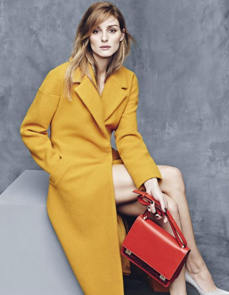 Chic Colorful Coats - Mustard Yellow Coat by Olivia Palermo // Notjessfashion.com
