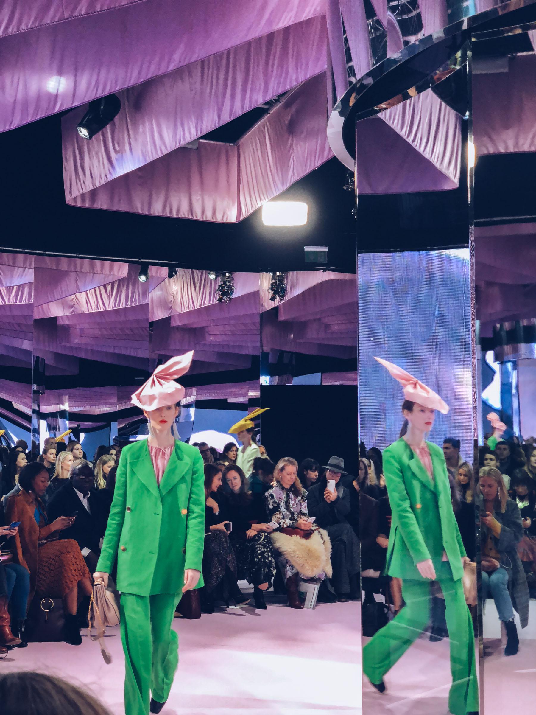 London Fashion Week Recap - Mulberry fw18 show // Notjessfashion.com