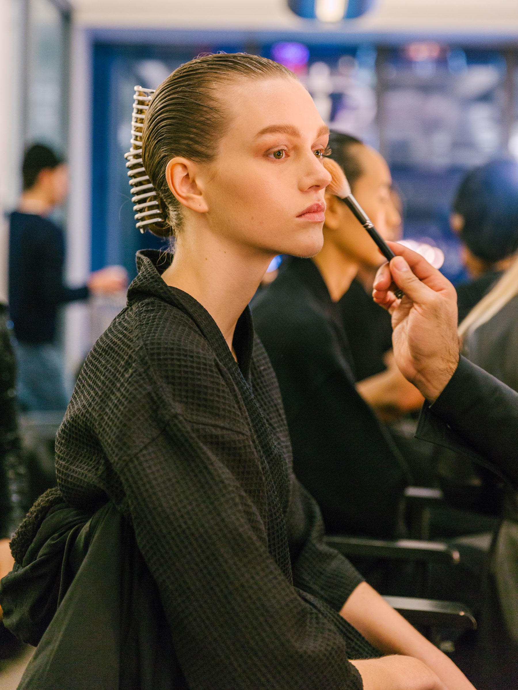 5 MAJOR BEAUTY TRENDS FROM NYFW BACKSTAGE // Notjessfashion.com // fall 2018 beauty trends, fall 2018 nyfw backstage, fall 2018 runway beauty
