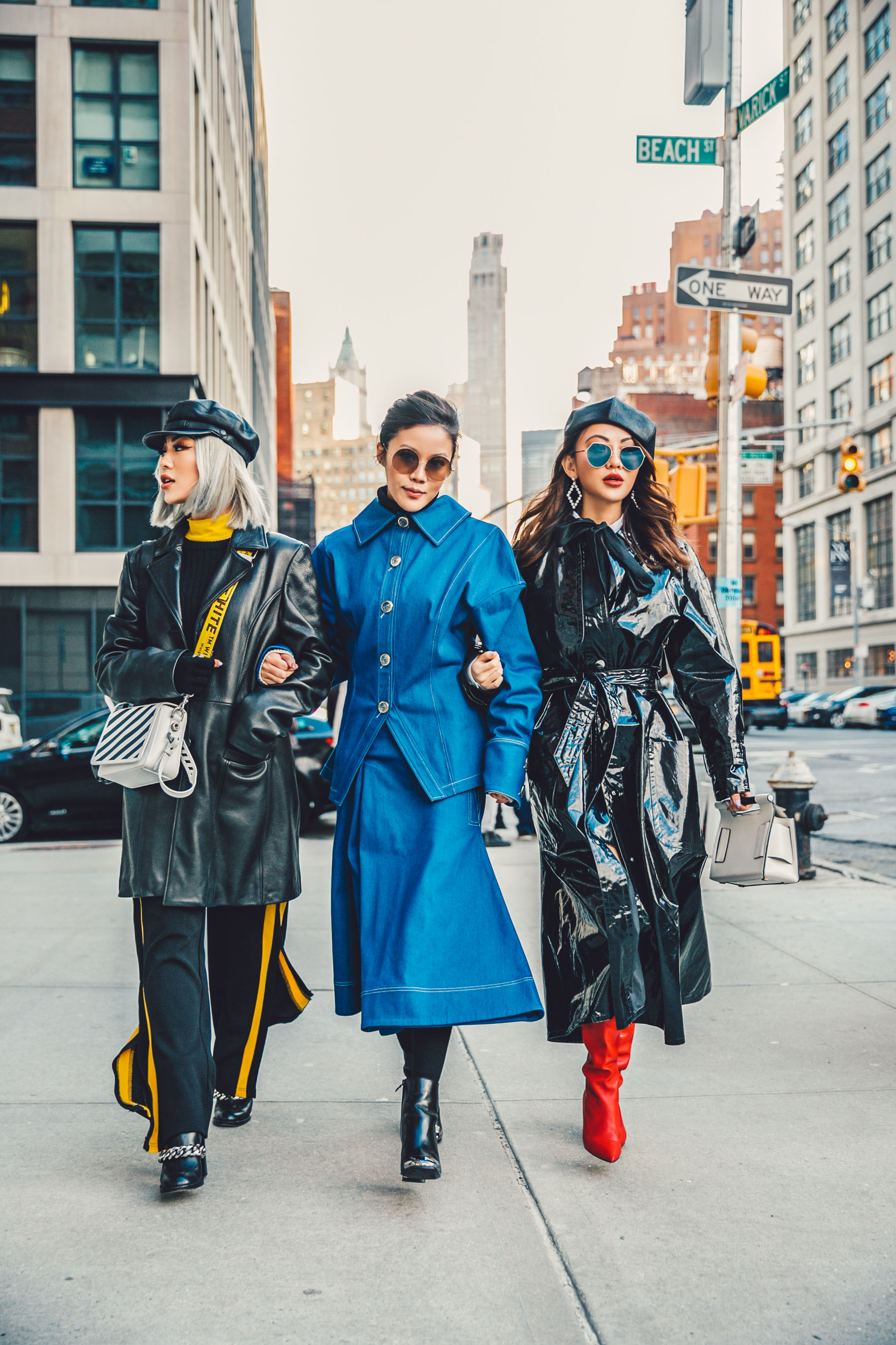 Jessica Wang and Jenny Tsang // Notjessfashion.com // NYFW street style, new york fashion bloggers