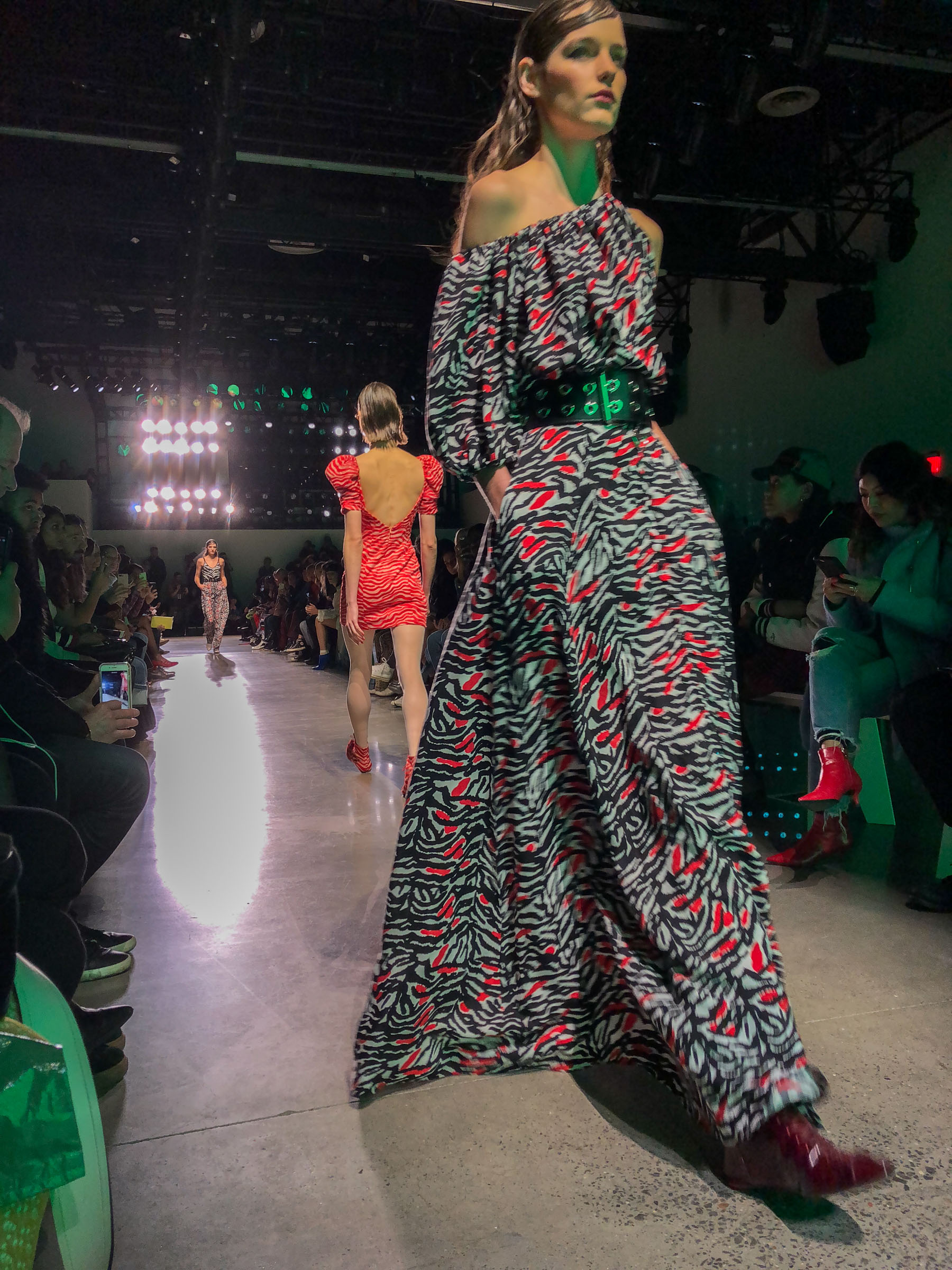 NYFW Day 1 Adam Selman AW18 Fashion Show // Notjessfashion.com