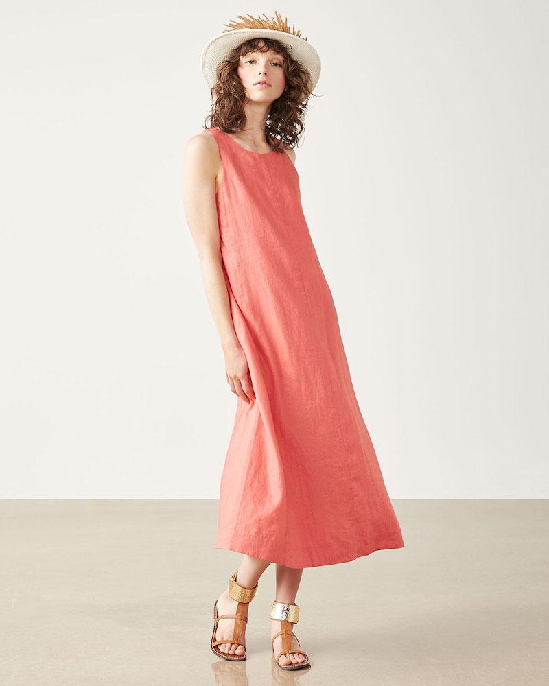 Dresses to Get You Through Easter - Linen Dress, coral dress // Notjessfashion.com