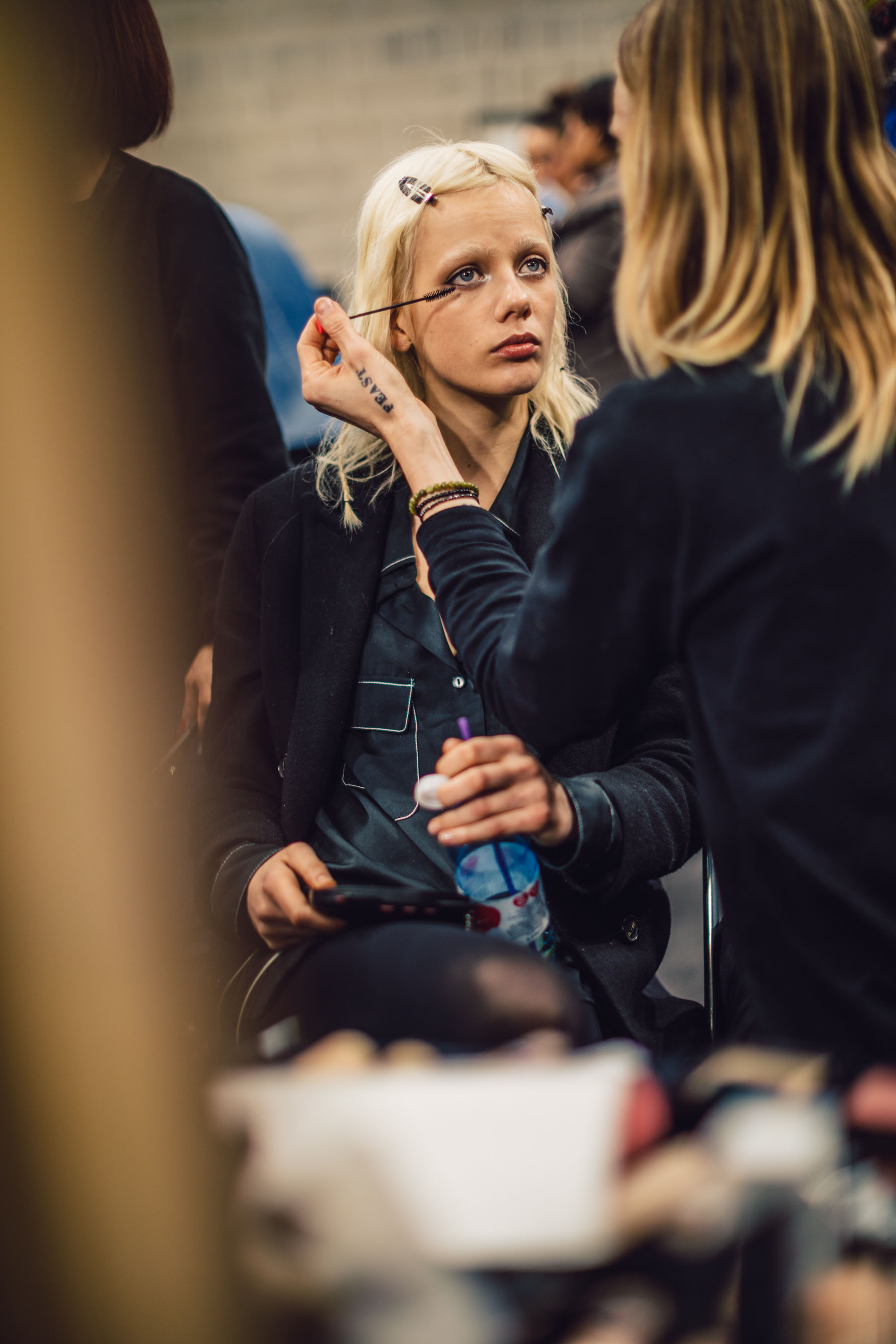 MFW Recap 2 - Backstage at Tommy Hilfiger // Notjessfashion.com