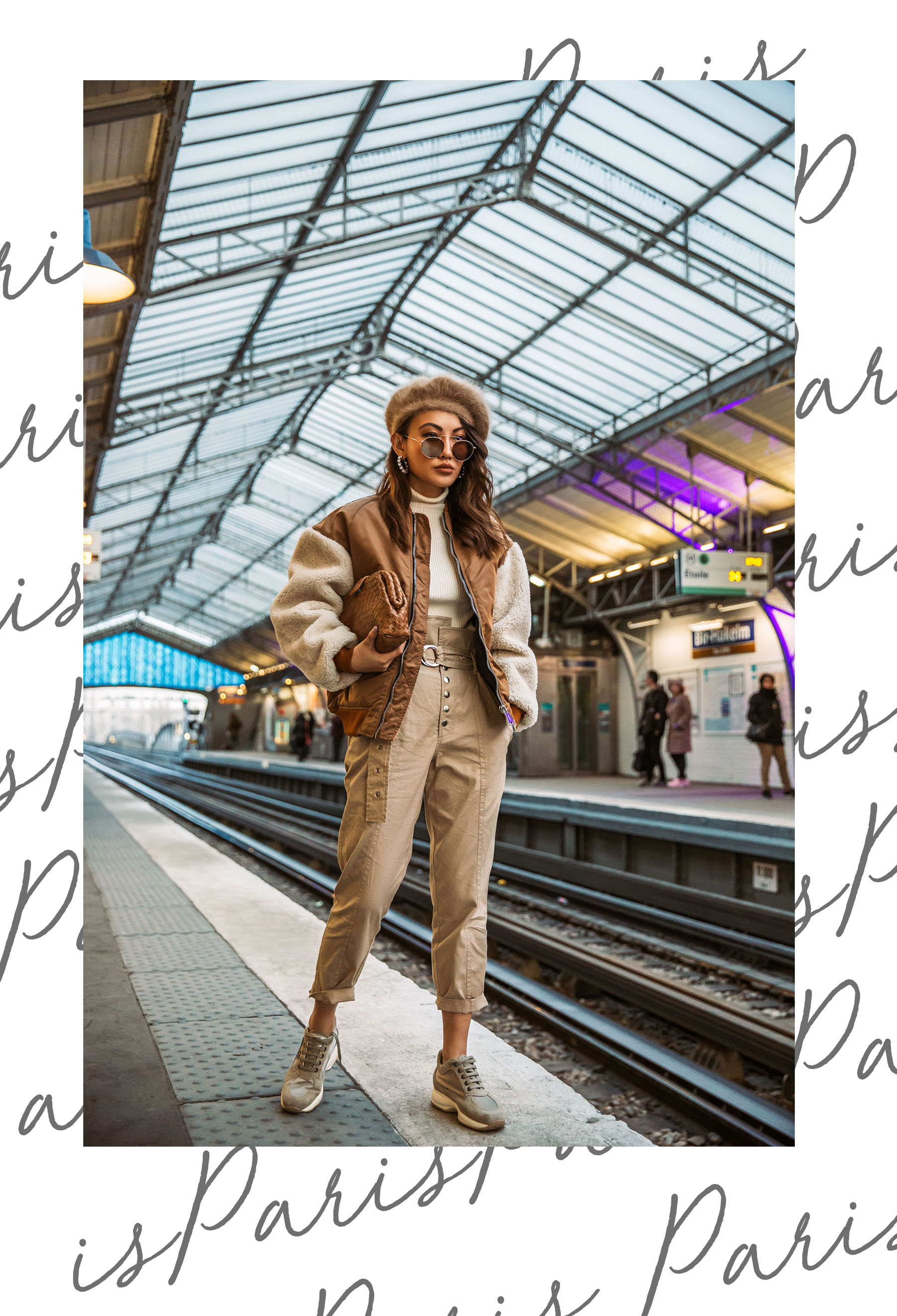 How to Experience Paris like a Local - Subway station in Paris, Paris Metro // Notjessfashion.com