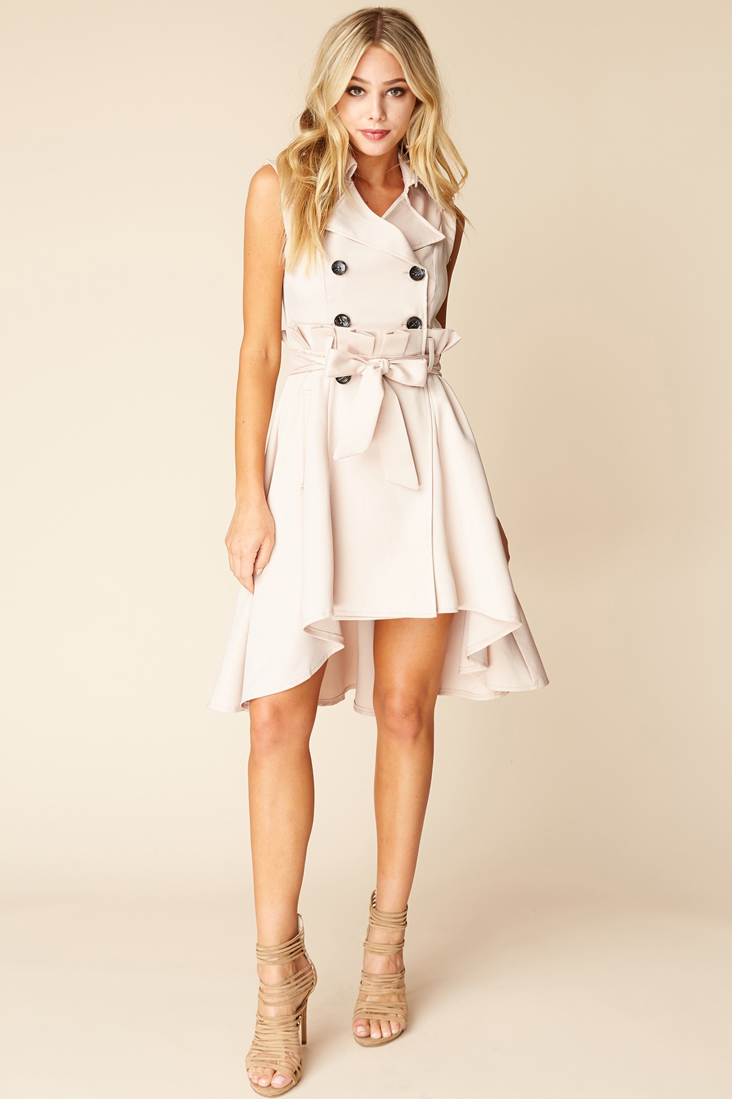 Dresses to Get You Through Easter - White Dress, belted dress // Notjessfashion.com