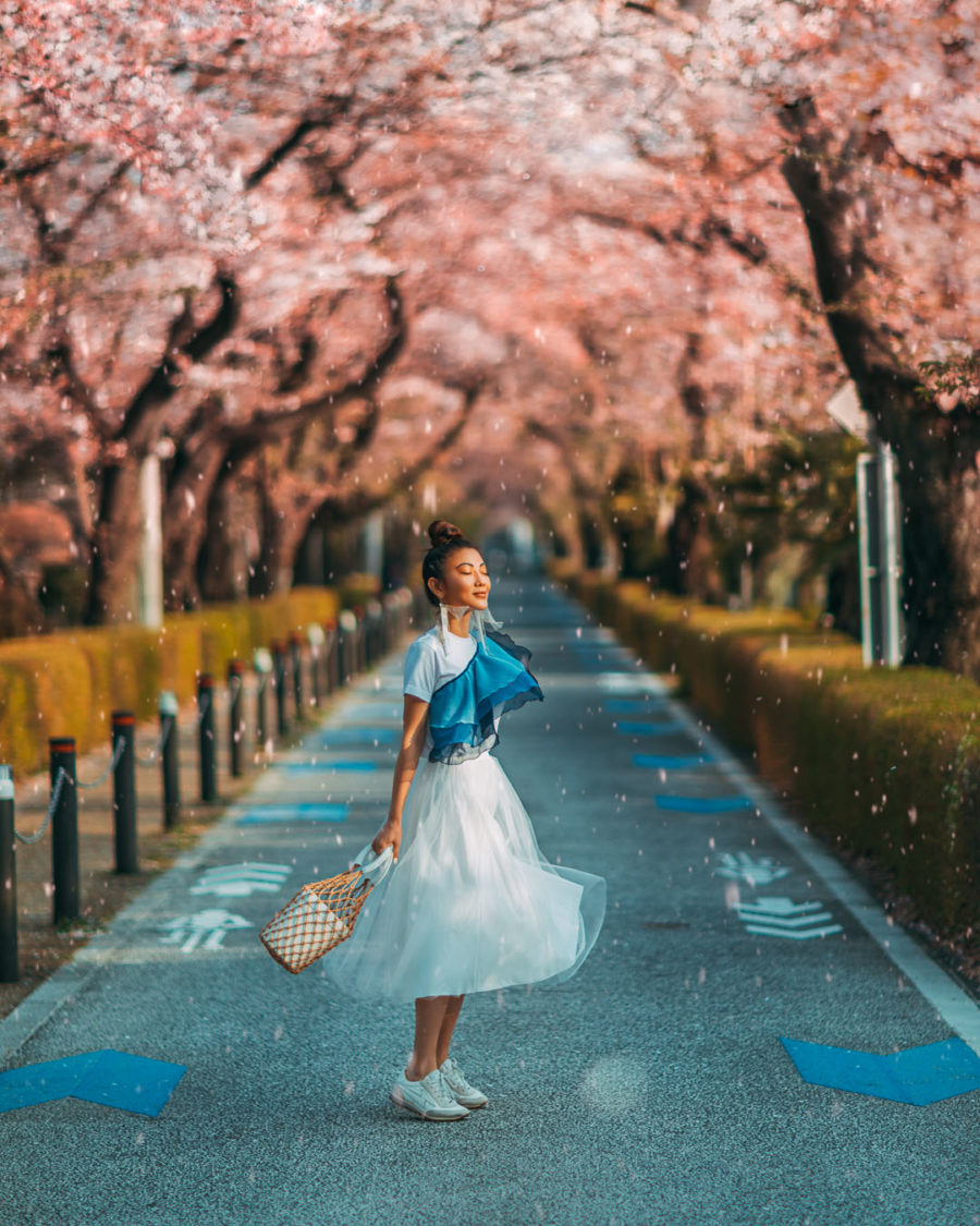 The Ultimate Shot List for a Blog Photoshoot - Tokyo Cherry Blossoms, luxury travel blogger // Notjessfashion.com