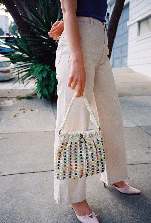 Summer Handbag Styles to Elevate Your Look - beaded bag, top handbag trends // Notjessfashion.com