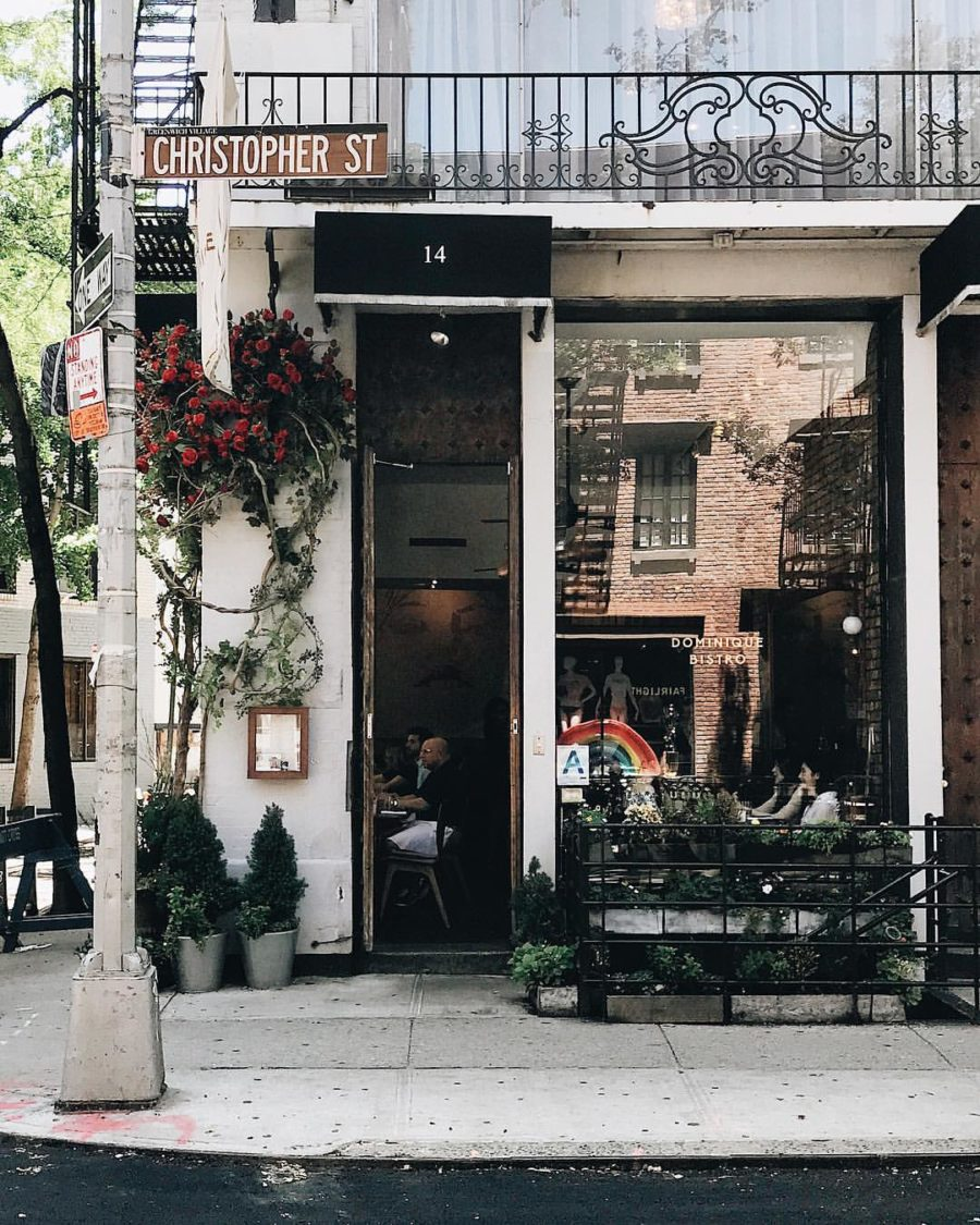 10 Cutest NYC Cafes - Dominque Bistro NYC // Notjessfashion.com