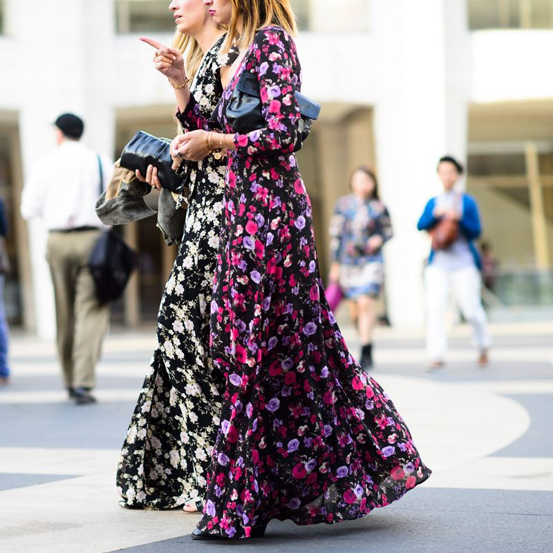 6 Best Maxi Dress Styles to Wear All Summer Long - Floral Maxi Dress // Notjessfashion.com