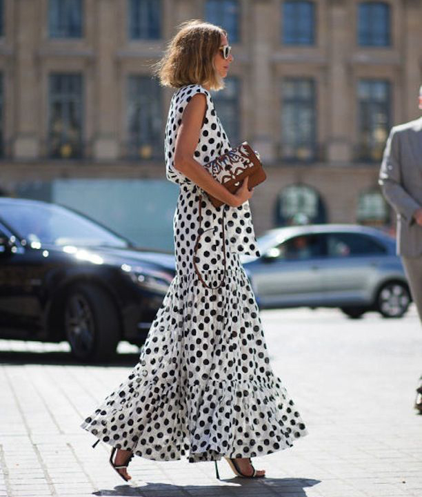 6 Best Maxi Dress Styles to Wear All Summer Long - Printed Maxi Dress Trend, Polka Dot Maxi Dress // Notjessfashion.com