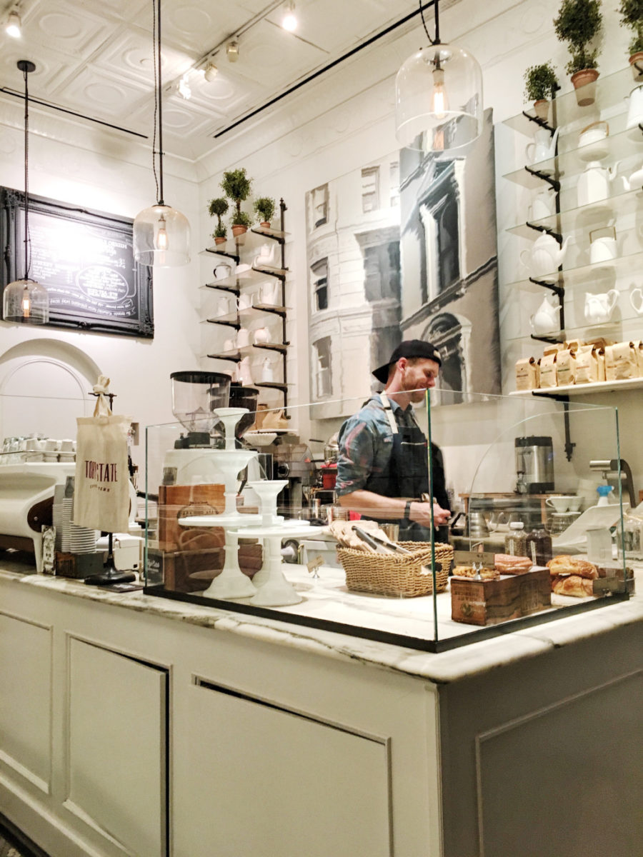 10 Cutest NYC Cafes - Toby's Cafe Flatiron // Notjessfashion.com