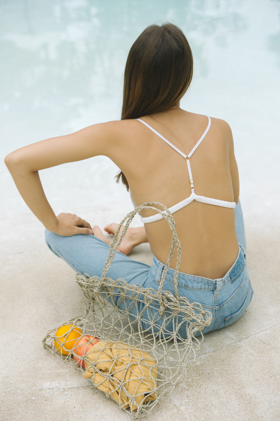The Only Handbag You Need This Summer - Fisherman Bag Trend, Net Handbag, Macrame Handbag // Notjessfashion.com