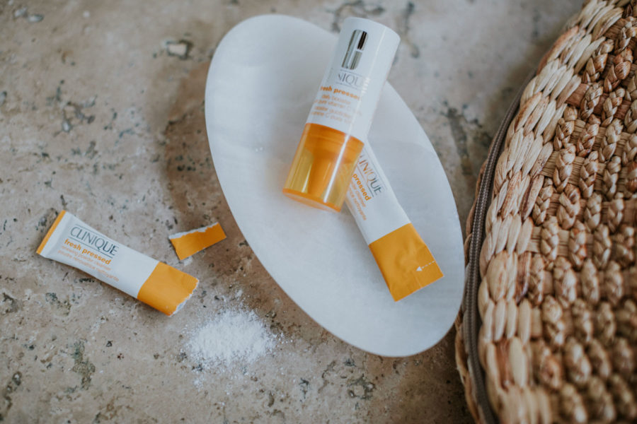 How to Get Smoother and Brighter Skin - Clinique Fresh Press, Clinique Vitamin C