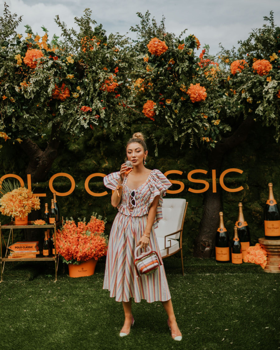 What to Wear to Your Next Blogger Event - Veuve Clicquot event, Veuve Clicquot Polo Classic // Notjessfashion.com