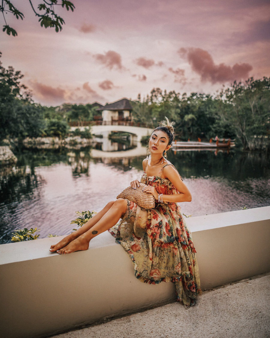 How I Plan for a Blog Photoshoot - Zimmerman Dress, Fairmont Mayakoba Trip // Notjessfashion.com