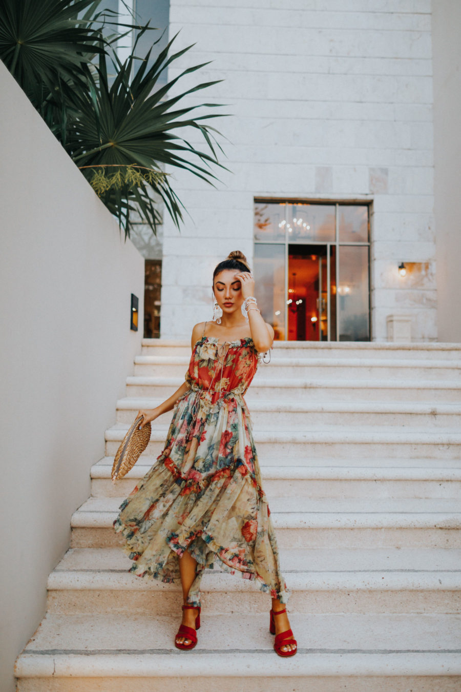 Fairmont Mayakoba x LIKEtoKNOW.it - Zimmerman dress, vacation style // Notjessfashion.com