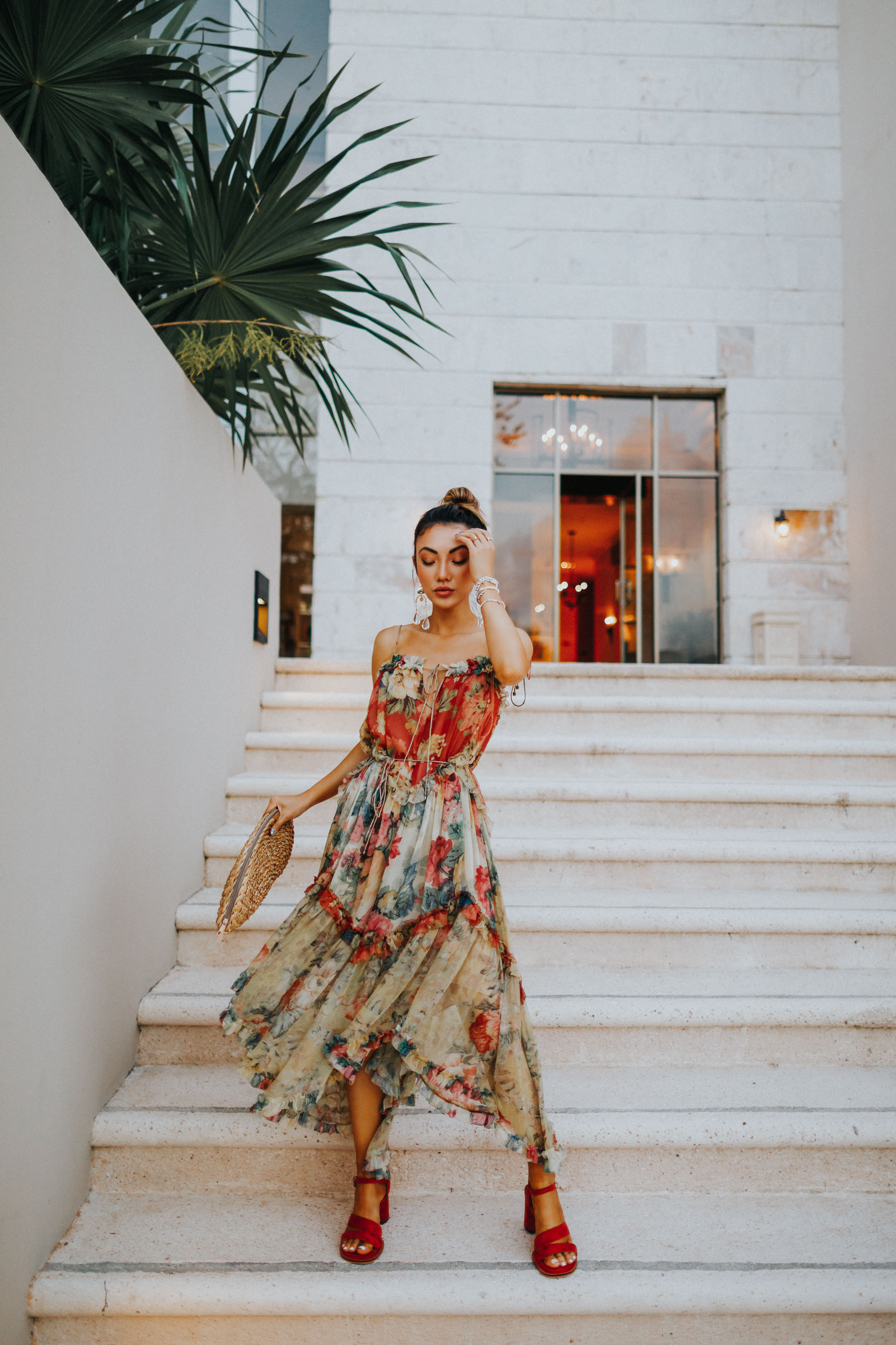 Fairmont Mayakoba x LIKEtoKNOW.it - Zimmerman dress, vacation style // Notjessfashion.com