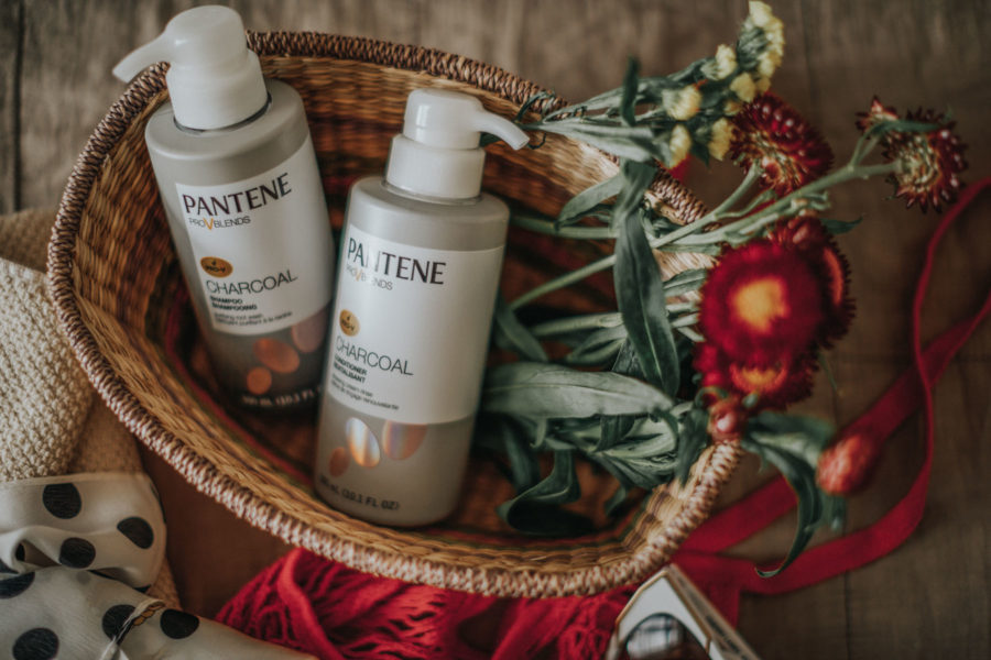 Pantene Pro V Blends Charcoal Shampoo Conditioner // Notjessfashion.com