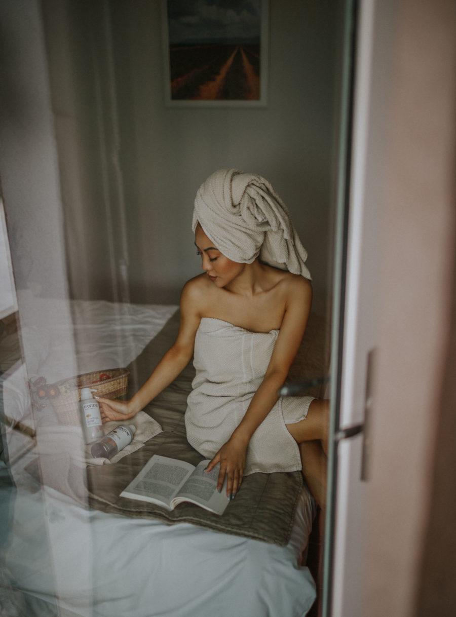 Pantene Charcoal Shampoo and Conditioner // Notjessfashion.com