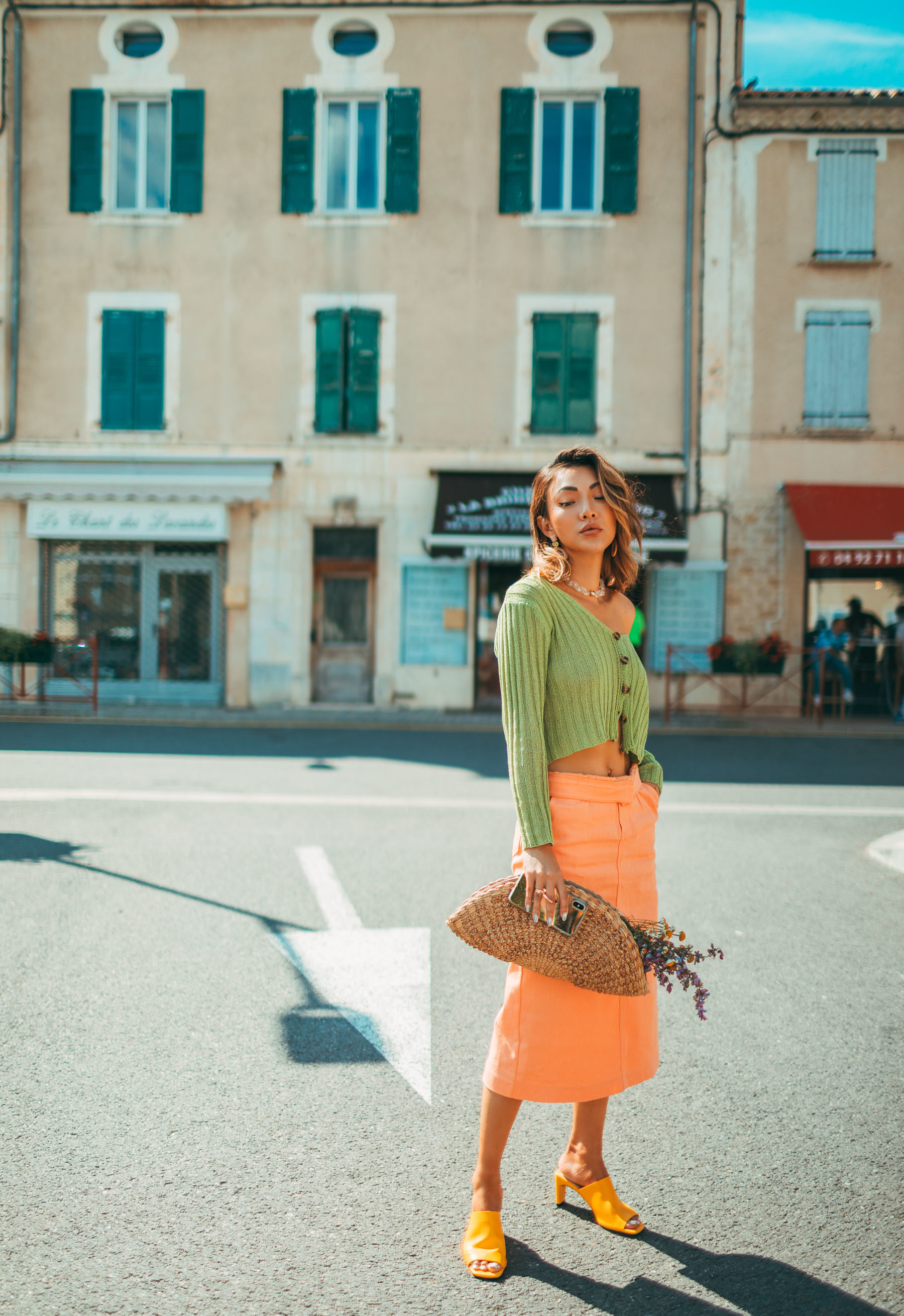 Preconceptions to Throw Away and Live Life at Your Own Pace // color block outfit, fashion in provence // Notjessfashion.com