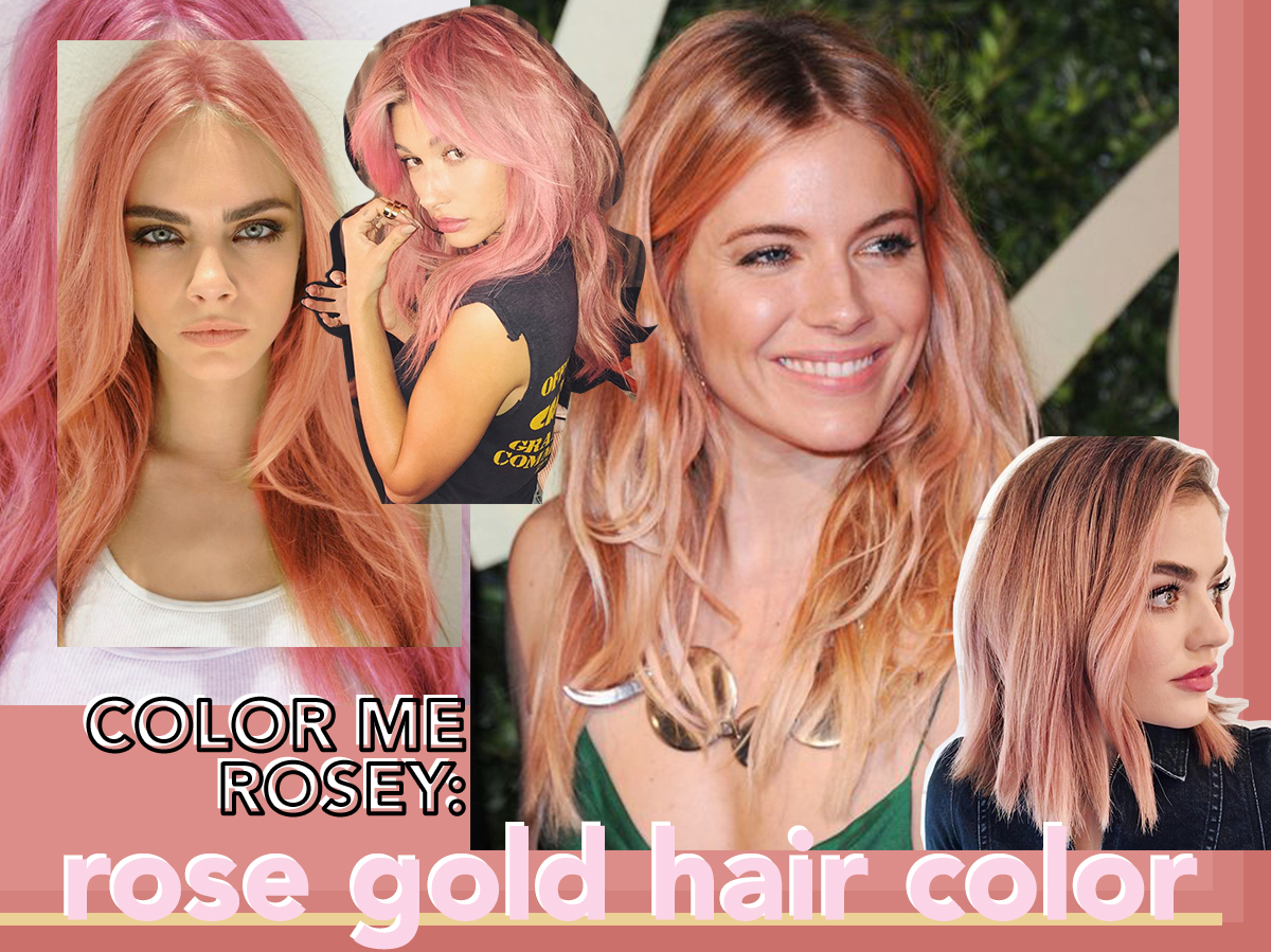 The Rose Gold Hair Color Trend I M Coveting Notjessfashion