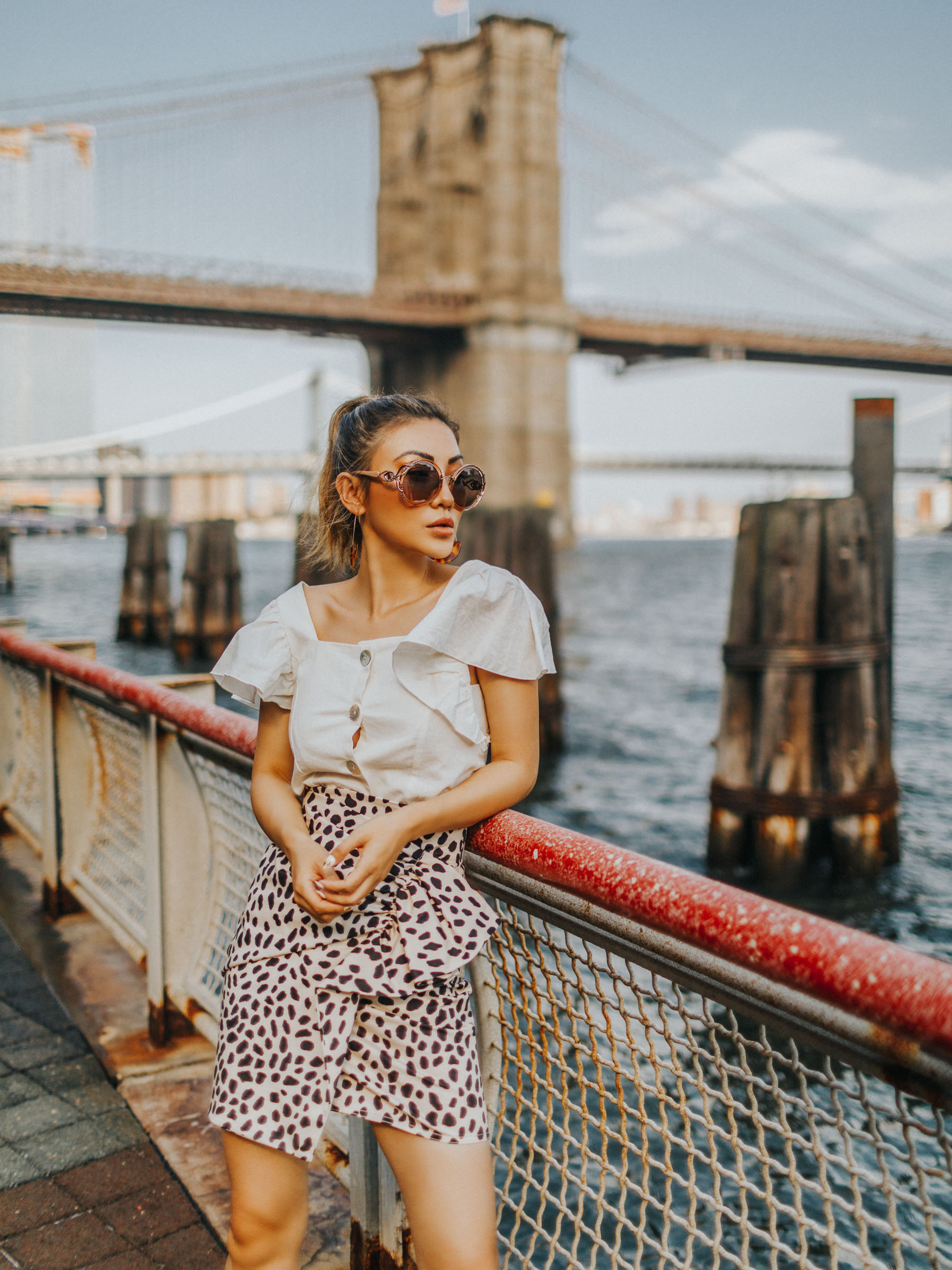 self-care regimen, leopard skirt, leopard print trend, animal print trend // Notjessfashion.com