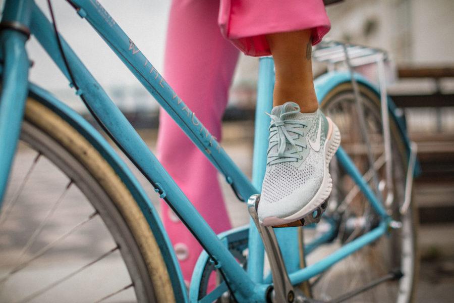 winter workout gear, Nike Epic React Sneakers, fashion sneakers // Notjessfashion.com