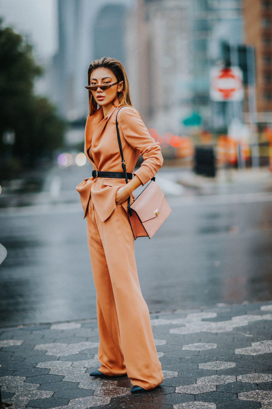 biggest street style trends of spring 2019, beige fashion trend, nude trend // Notjessfashion.com