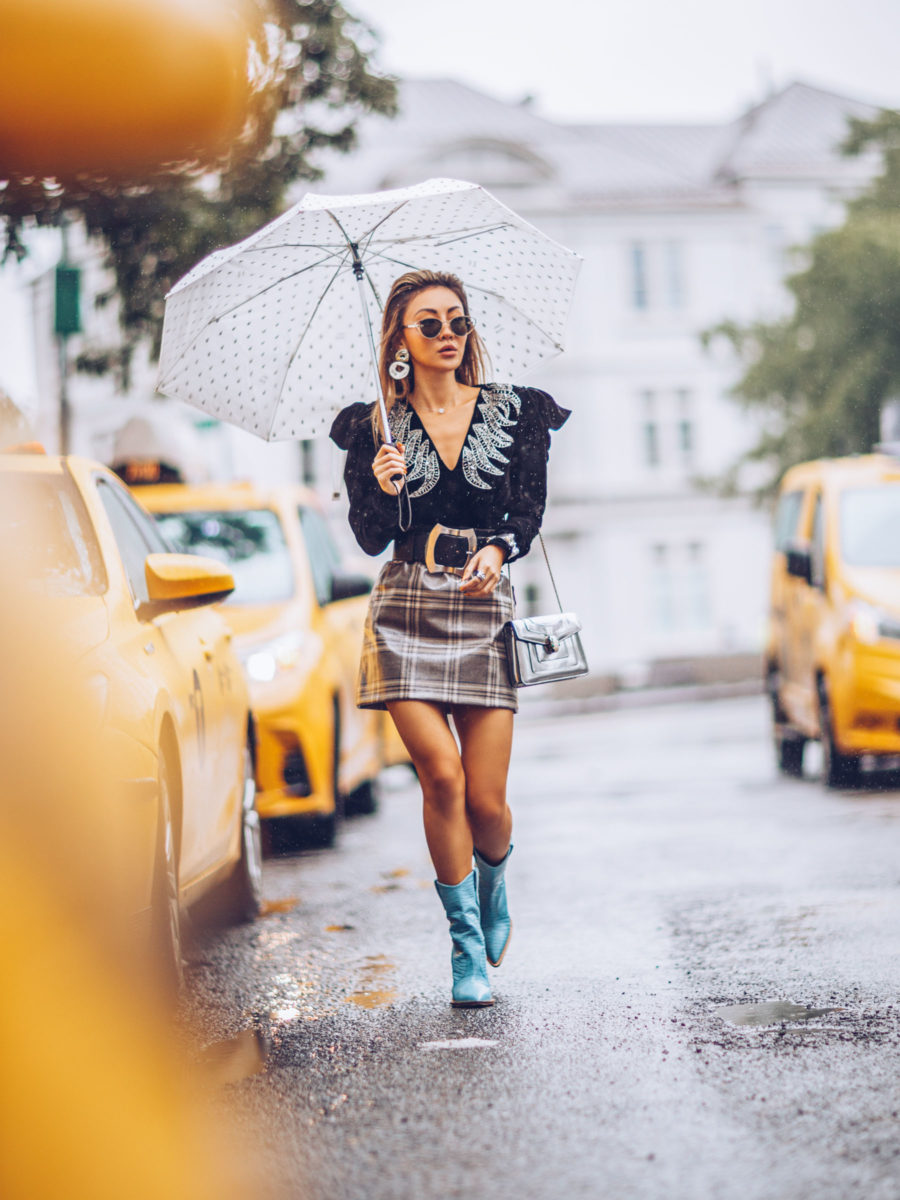 How to Wear The Western Trend, Western trend, cowboy boot trend, nyfw street style // Notjessfashion.com