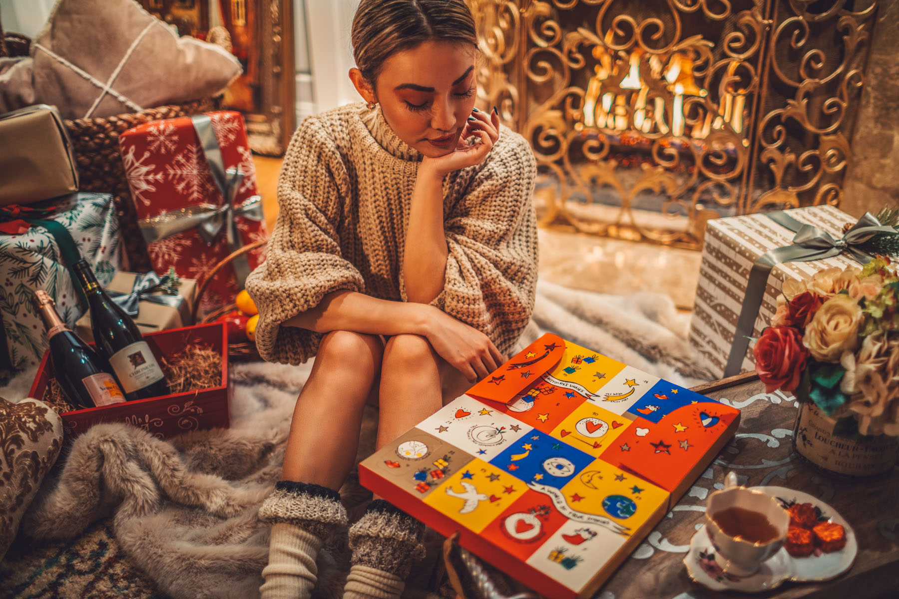 Advent Calendar Holiday Gift from L'Occitane // Notjessfashion.com