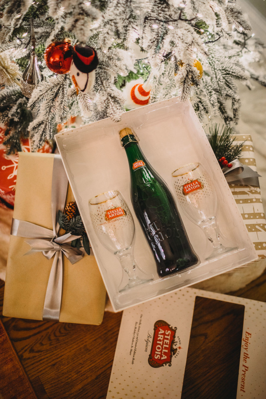 Stella Artois Holiday Chalice Set // Notjessfashion