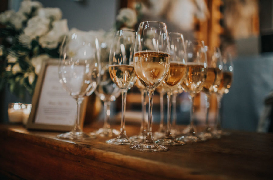 Champagne for holiday party, holiday tips for staying safe // Notjessfashion.com