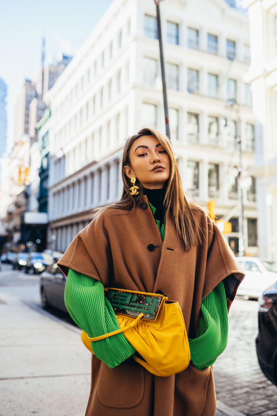 Ways to look more stylish, nyc winter style, oversized coat, what goes around comes around nyc // Notjessfashion.com