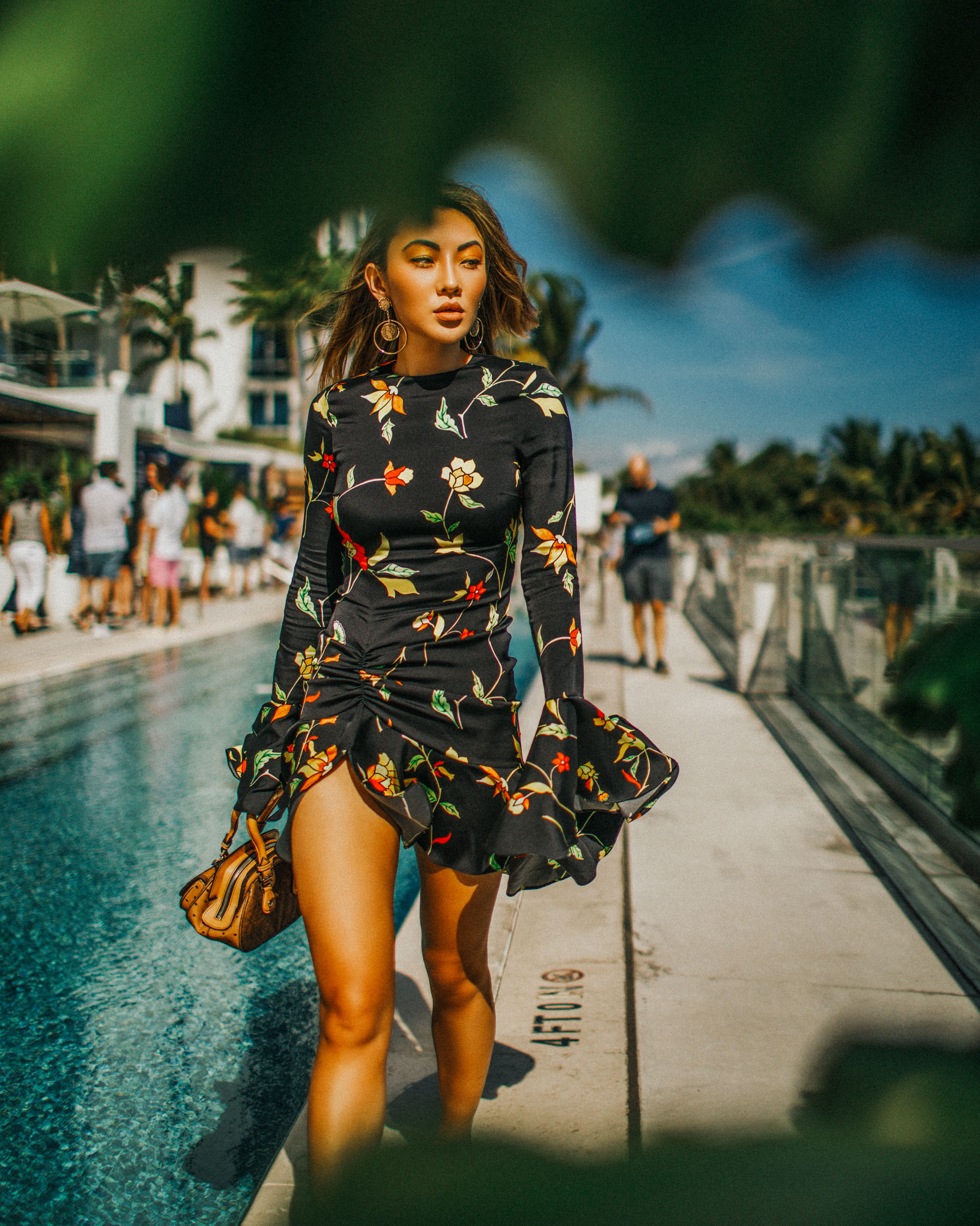 Best Spring Vacation Ideas & Getaways - vacation dress, floral dress for spring // Notjessfashion.com