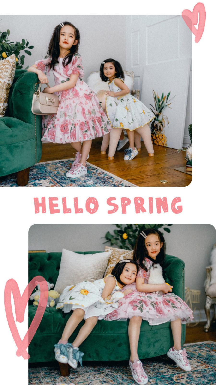 kids fashion trends for spring 2019 - kids floral dresses, kids fashion trends, melijoe kids clothing,cute kids dresses // Notjessfashion.com