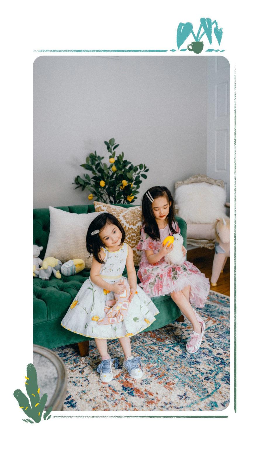 kids fashion trends for spring 2019 - kids floral dresses, kids fashion trends, melijoe kids clothing // Notjessfashion.com